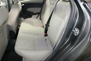 2017 Ford Focus 2nd Second Row Rear Seat Cloth Gray Back Bench Oem