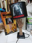 Walking Dead Table Lamp Used Great Condition
