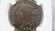 Cyprus 1 Piastre 1886 Ngc Au Details Cleaned