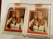 Set Of 2 Topps Vault 1977 Charlies Angels Proof Trading Cards 204 Cheryl Ladd