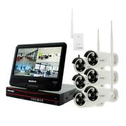 Wireless Cctv 2tb Hdd 8 Channel Hd 6 Auto Pair Ir Camera Built In Monitor Router