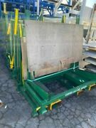 6800 Lb. Capacity Sheet Glass Storage Rack Multiple Units Available