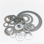 0.1mm Shim Washers Din 988 High Quality Steel - Multiple Sizes Available