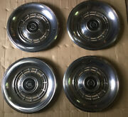 Fordlincoln Merc Cougar Wheel Covers Center Caps Vintage Fomoco Nice