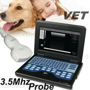 Well Loved Laptop Ultrasound Scanner 3.5 Convex Animals Probe Usa Shipping
