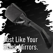 Vawik Oem Replacement Mirror Black Fits Ninja Zx-10r Zx1000e And03908 X1 Right Hand