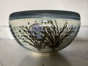 Handmade Studio Art Pottery Squared Bowl Signed By Artist Or Studio Jd W/holes