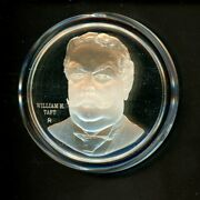 Sterling Silver Presidential Medals White House Historical William H Taft