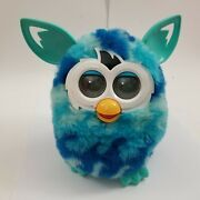 Hasbro Furby Full Size Blue Waves Turquoise Green With Teal Ears 2012 Works