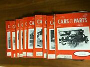 Car And Parts Magazine Auto Racing Nascar Indy Stock Car Lot Of 10