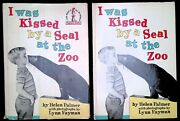 Dr. Seuess's 1962 Vintage I Was Kissed By A Seal At The Zoo True 1st/1st Ed Dj