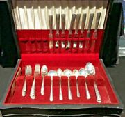 Vintage 43 Piece Towle Candlelight Sterling Silver Flatware Set