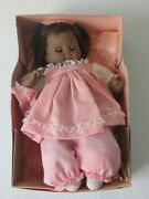 Vintage 1977 Madame Alexander African American Pussy Cat Baby Doll In Box