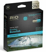 Rio Directcore Bonefish Wf7f Floating Fly Line - Sand/org/blue Closeout Sale