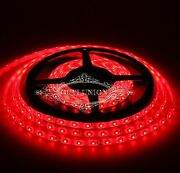 Led Light Strips Flexible Smd 3528 Red Waterproof/non-waterproof 5m100m Dc 12v