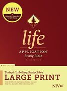 Niv Life Application Study Bible, Third Edition, Personal Size Hardcover