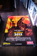 Escape From L.a 4x6 Ft Bus Shelter Vintage Movie Poster Original 1996