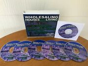 Wholesaling Houses For A Living Real Estate Course By Mike Collins - 7 Cd Set