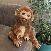 Hasbro Furreal Friends Cuddles My Giggly Monkey Interactive Pet 2012 Tested