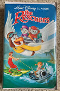 The Rescuers + Down Under Lot Of 2 Black Diamond Edition Vhs Brand New Sealed