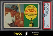 1960 Topps Willie Mccovey Rookie Rc 316 Psa 7 Nrmt Pwcc-s