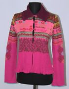 Oilily Womens Wool Knit Cardigan Jumper Size S