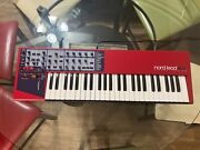 Nord Lead 2x Virtual Analog Synthesizer And Soft Case Perfect Condition