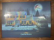 Christmas Vacation Art Print Poster Foil Variant Dkng Xx/150 Home Alone Lampoons