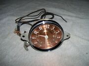1940and039s Antique Car Clock From Jaeger Watch Co Ny Model Na47 Free Shipping
