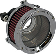Trask Chrome Assault Charge High-flow Air Cleaner Tm-1022-ch