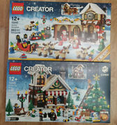 Lego 10245 10249 Santaand039s Workshop And Winter Toy Shop Free 5 Days Delivery