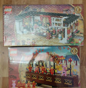 Lego 80101 80102 Chinese New Year Eve Dinner And Dragon Dance Free 5d Delivery