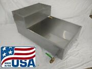 2'x3' Maple Syrup Pan W/ Valve And Feed Pan Evaporator Boiling Stainless 24 36