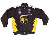 Ups Nascar Jacket Dale Jarrett Winston Cup Racing 88 Chase Authentic Size Xl