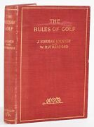 Joseph Norman Lockyer / Rules Of Golf Being The St Andrews Rules For The Game