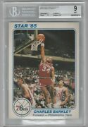 1985 Star Team Supers 5 X 7 Ps8 Charles Barkley Bgs 9 Rookie Year Issue