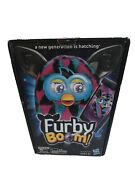 Furby Boom Black Pink Turquoise Blue Aqua Teal Triangles -talking Interactive