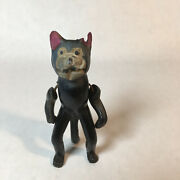 Vintage 1920's Celluloid Japan Early Felix The Cat Jointed Figure