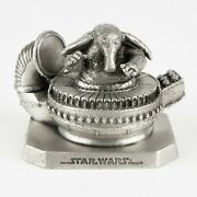 Max Rebo, Ortolan From Rotj | Vintage 1990s Star Wars Figure By Rawcliffe Pewter