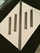 Marklin Mini Club N-scale Curved Track Lot 5 Straight Sections