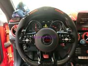 Old Style To New Style Carbon Fiber Led Steering Wheel For Benz Amg E-class Gle