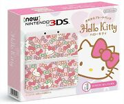Nintendo 3ds Console Kisekae Plates Pack Hello Kitty Console Game Japan New