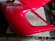 Ducati St4s Left And Right Fairings Red