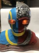 Used Android Kikaider 1/2 Mask Garage Kit Figure Toy Collection Rare