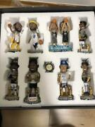 2017-2018 Golden State Warriors Bobblehead Set Figure Collection Toy Rare