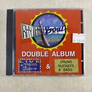 Rhythm And Soul Double Album Live In Times Square Drums Buckets And Bass New Cd 1998
