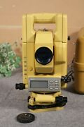 Used Topcon Gts-310 Iia Surveying Total Station With Case Rare