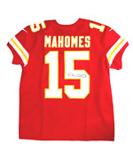 Patrick Mahomes Kansas City Chiefs Signed Authentic Red Nike Elite Jersey Bas