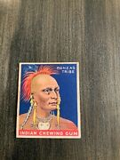 1933 Goudey Indian Gum 116 Series 288 Low Skip Sioux Tribe No Creases Rare