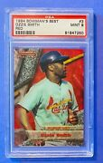 1994 Bowmanand039s Best Baseball Card 3 Ozzie Smith Red Psa 9 Mint